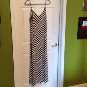 Lauren, knit, fully lined maxi dress